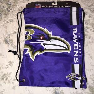 Baltimore Ravens string bag